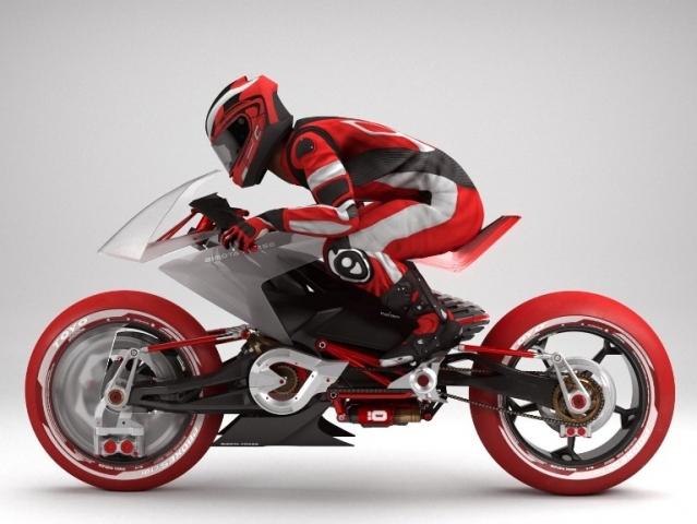 Bimota EB1  koncept elektrického motocyklu Hlavní obrázek k článku  Bimota  EB1  koncept elektrického motocyklu 4841046f71