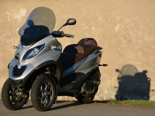 Test Piaggio MP3 500 LT Business