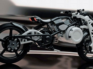 Psyche: psycho koncept od Curtiss Motorcycles