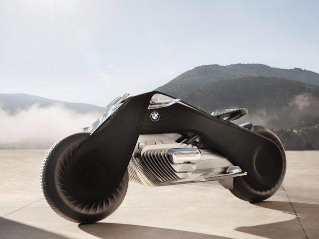 BMW VISION NEXT 100  samovyrovnávací motocykl × Motoforum.cz 3a39d35e01