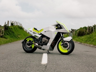 Yamaha XSR700: The Outrun od Ton-Up Garage