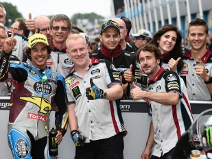 Pole Position v Moto2 získal Franco Morbidelli