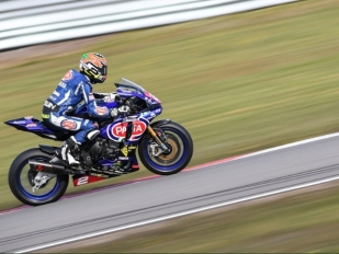 V stocích v Assenu Tamburini, ve WorldSSP300 Coppola